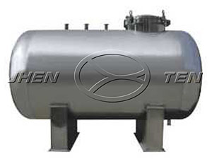 Stainless steel horizontal storage tank
