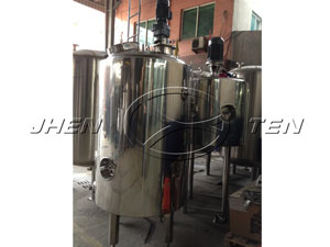 Stainless steel emulsifying tank