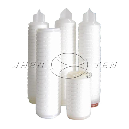 PES Microporous Membrane  Folding Filter Cartridge