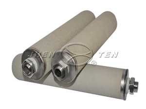 Titanium rod filter